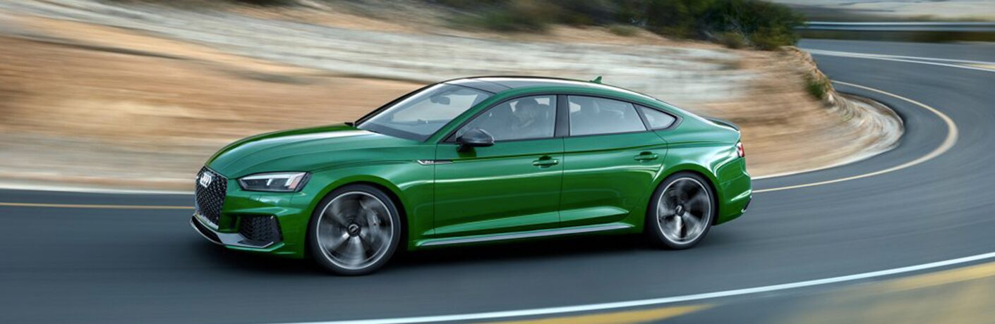 2019 Audi RS 5 Sportback in green