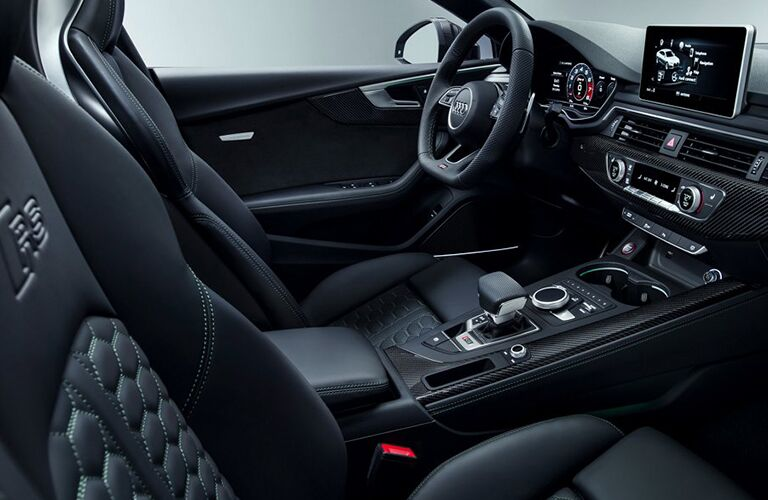 2019 Audi RS 5 Sportback dashboard