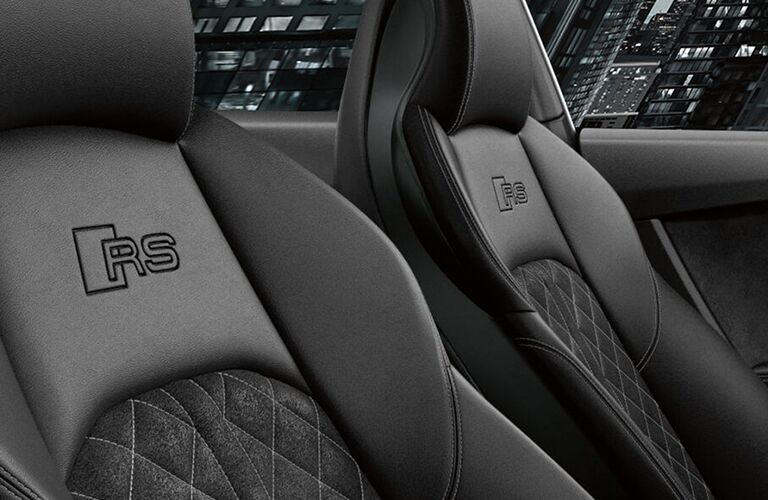 2019 Audi RS 5 Sportback front seating