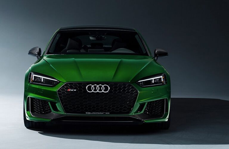 2019 Audi RS 5 Sportback front in green