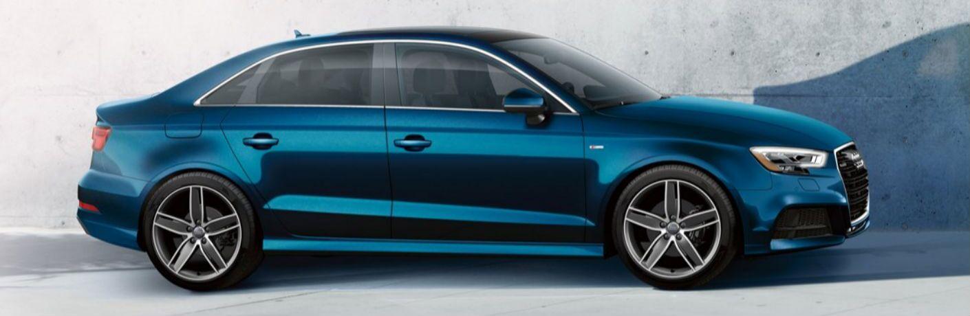 2019 Audi A3 in blue