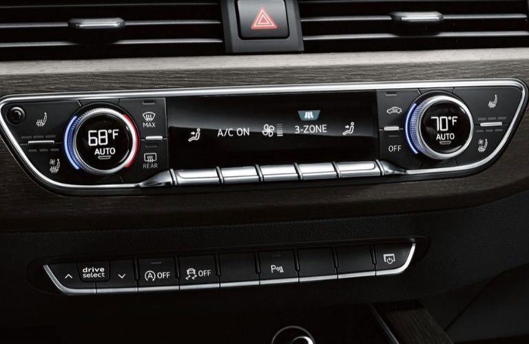 2019 Audi A5 Cabriolet climate control