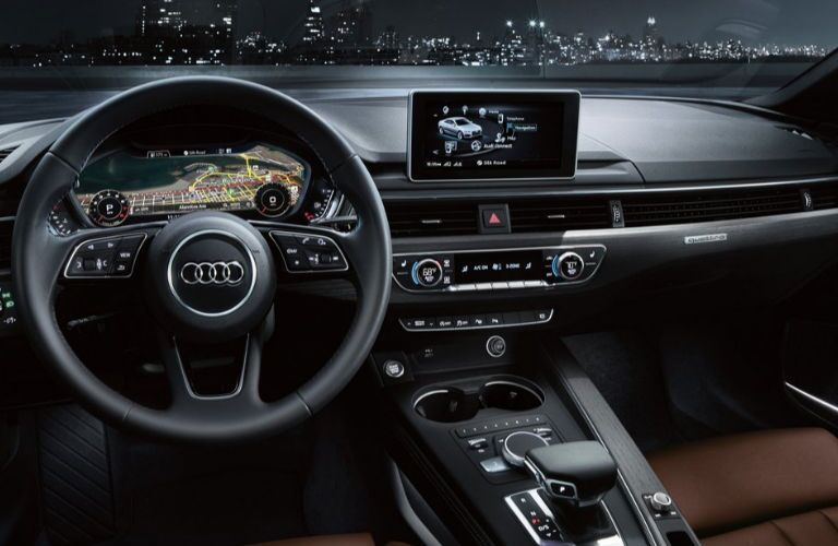 2019 Audi A5 Cabriolet dashboard