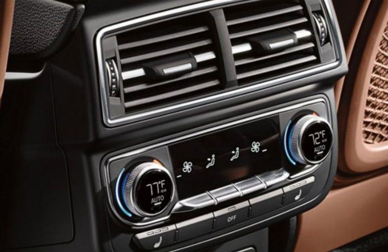 2019 Audi Q7 climate control