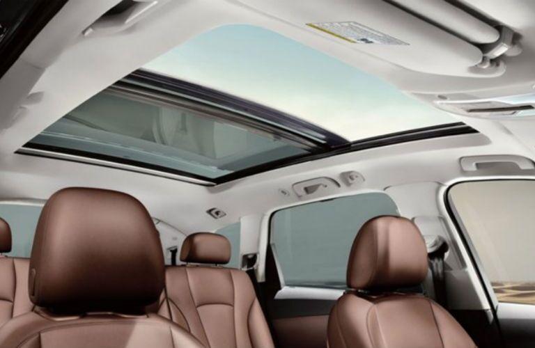 2019 Audi Q7 sunroof