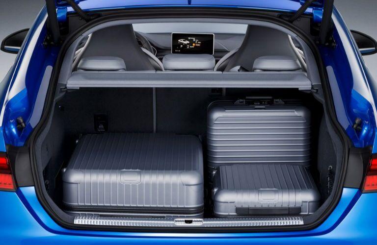 2019 Audi S5 cargo area