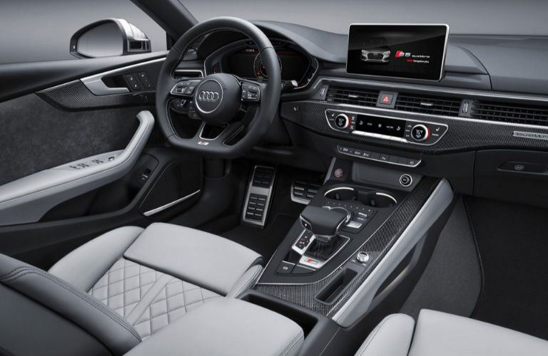 2019 Audi S5 dashboard
