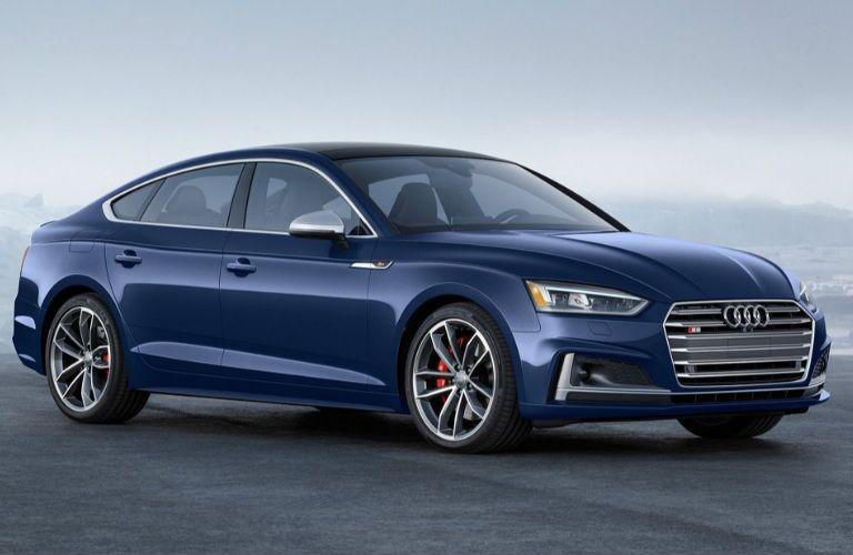 2019 Audi S5 in blue