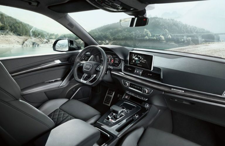 2019 Audi SQ5 dashboard