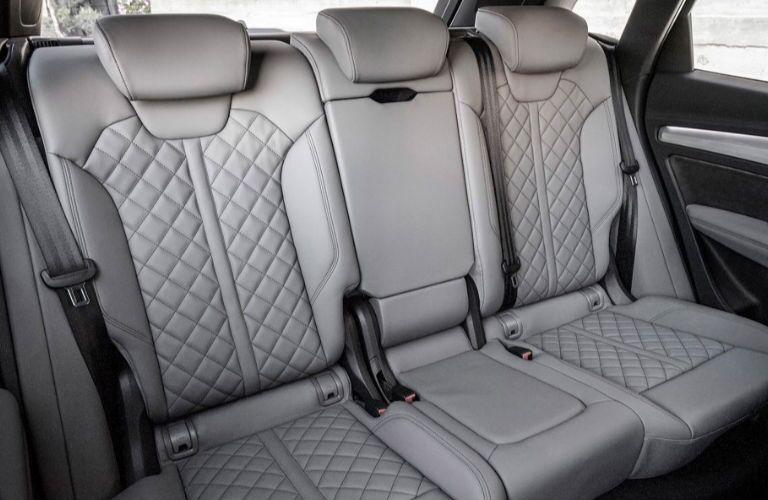 2019 Audi SQ5 rear seating