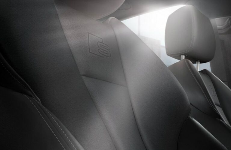 2020 A3 S line upholstery close up