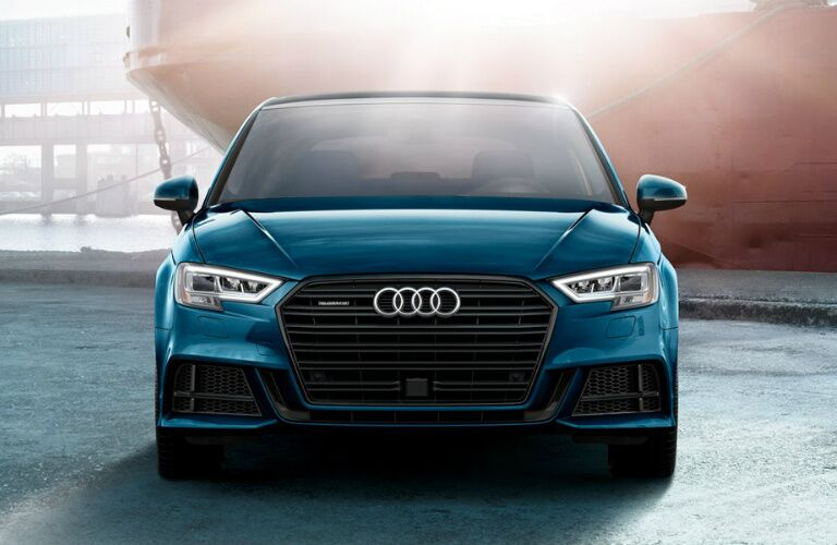 2020 A3 frontal exterior view