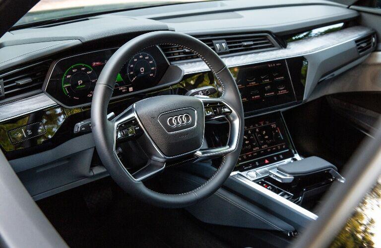 2020 e-tron cockpit showcase