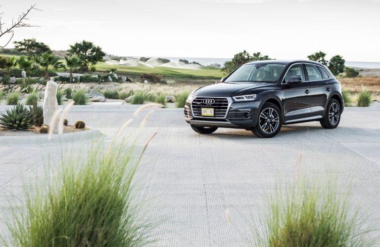 2020 Q5 parked on asphalt