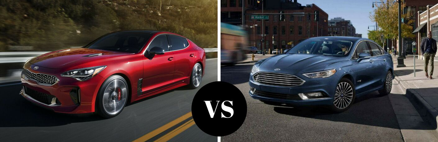 2018 Kia Stinger vs 2018 Ford Fusion