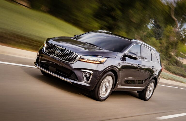 2019 Kia Sorento on a rural road