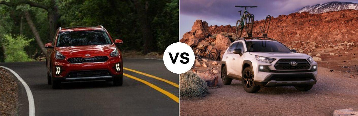 2020 Kia Niro vs 2020 Toyota RAV4 Hybrid