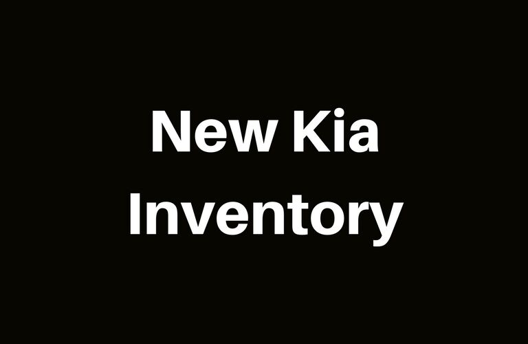 View our inventory of new Kia vehicles