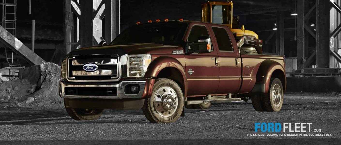 Commercial Trucks Tampa FL Super Duty Work Trucks Ford Fleet