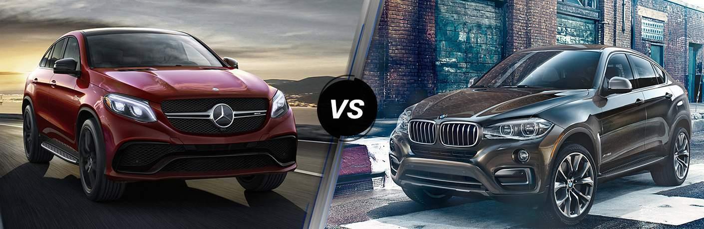2018 mercedes benz gle 350 vs 2018 bmw x6 for Mercedes benz roadside assistance phone number