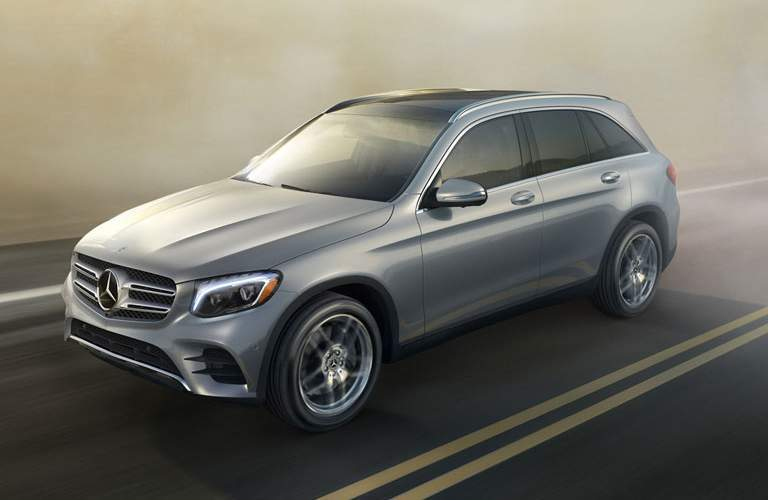 exterior view of the 2018 Mercedes-Benz GLC