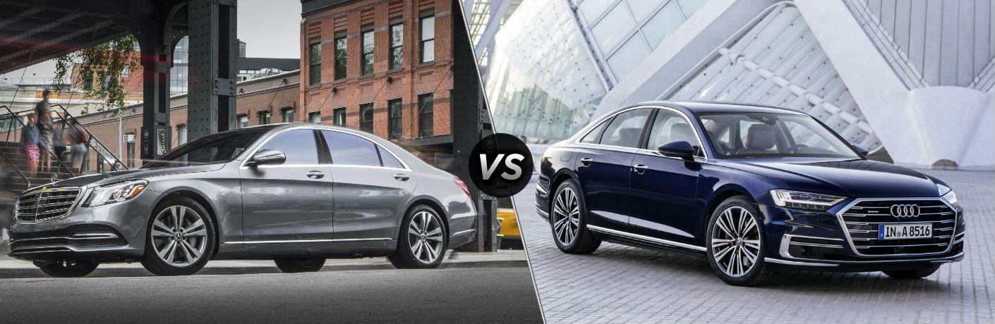 2018 Mercedes-Benz S-Class vs 2018 Audi A8