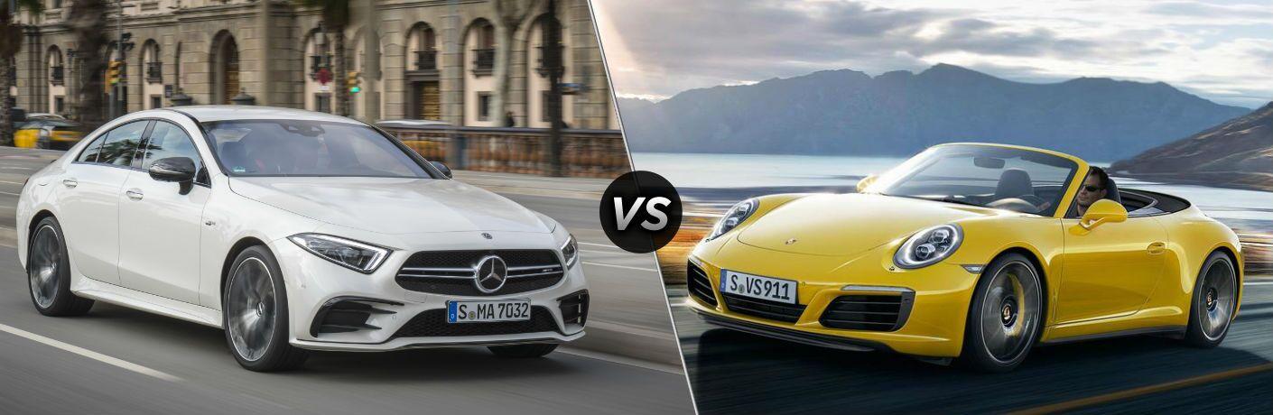 2019 Mercedes-Benz CLS vs 2018 Porsche 911