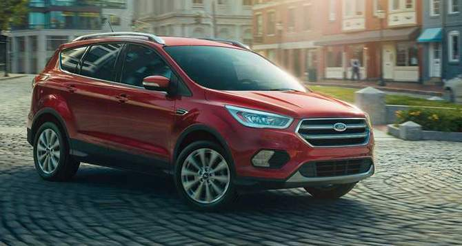 2018 Ford Escape Safety