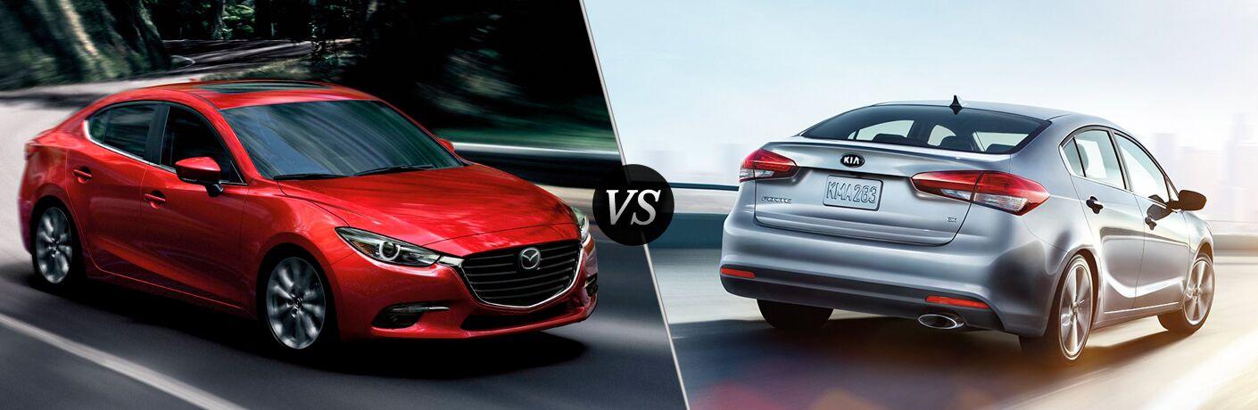 2018 Mazda3 vs 2018 Kia Forte