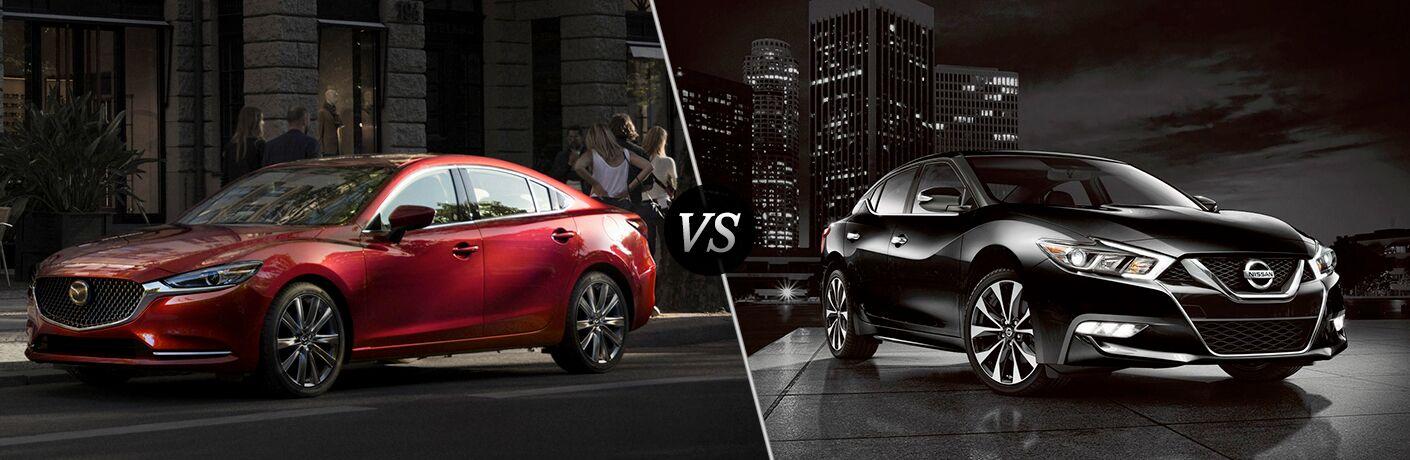 2018 Mazda6 Sport vs 2018 Nissan Maxima S