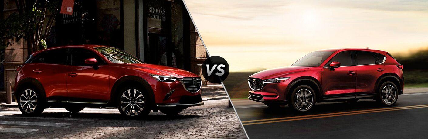2019 Mazda CX-3 vs 2018 Mazda CX-5