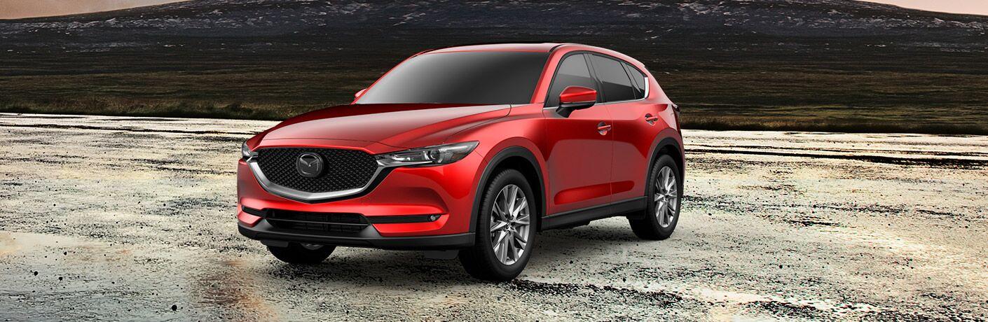 red 2019 Mazda CX-5