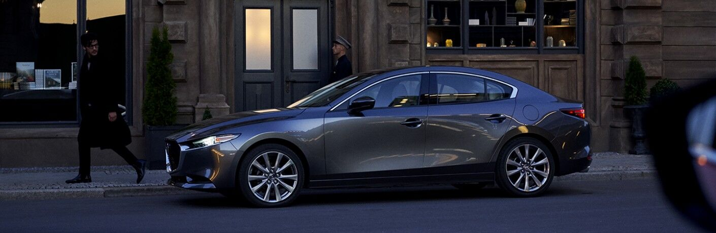 side view of the 2020 Mazda3