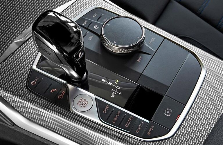 2019 BMW 3 Series Center Console and Gear Shifter