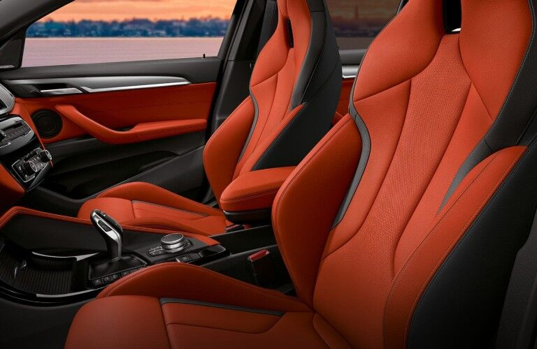 Optional sport seats of 2019 BMW X2