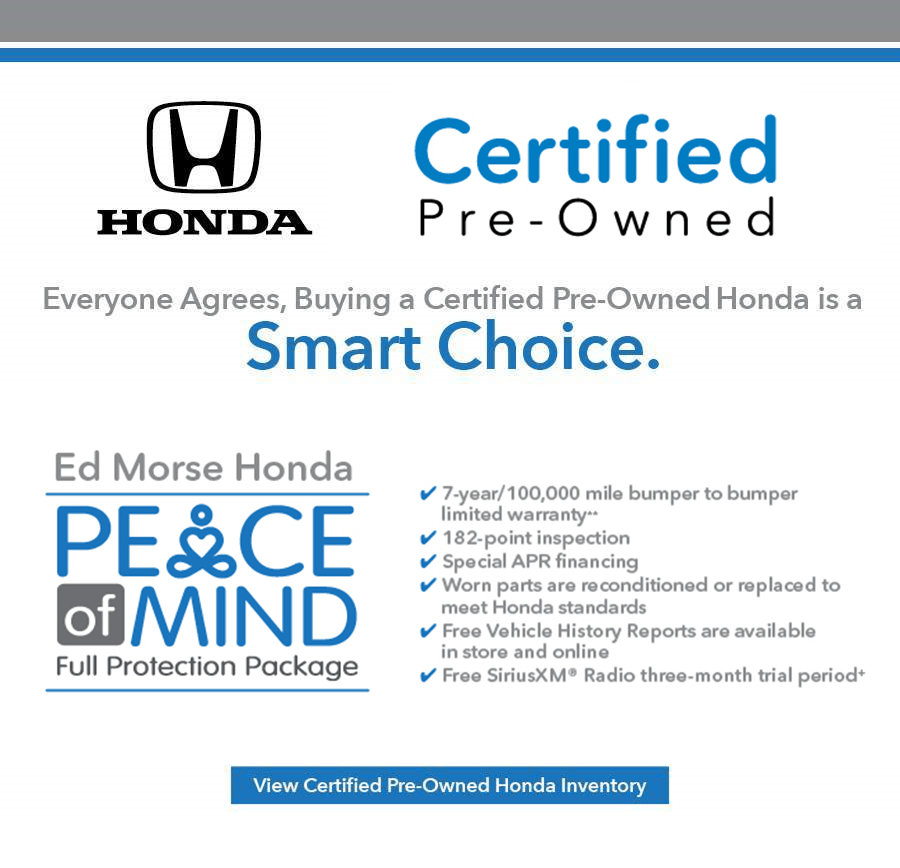 Honda Certified Pre Owned >> Riviera Beach Florida Honda Dealership Ed Morse Honda