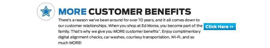 More Customer Benifits