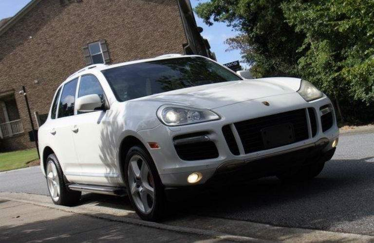 2008 Porsche Cayenne Turbo in white