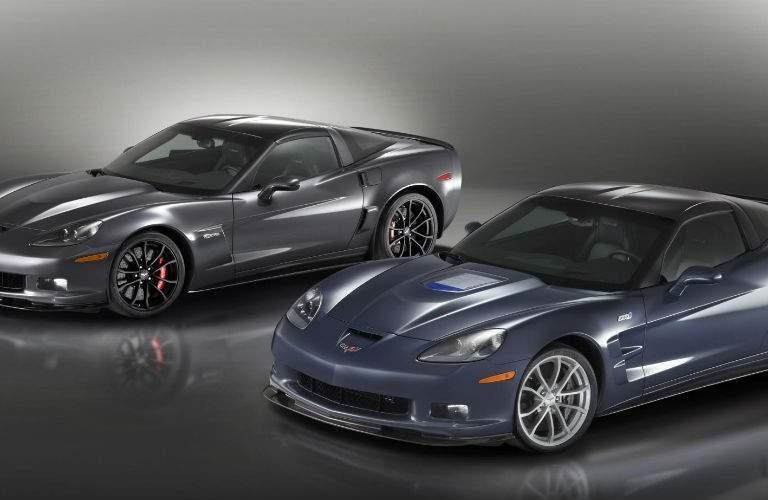 two 2012 Corvettes