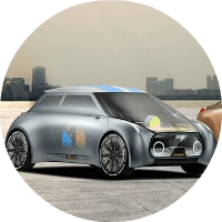 image of a BMW future concept vehicle