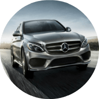 2018 Mercedes-Benz C 300 driving front view
