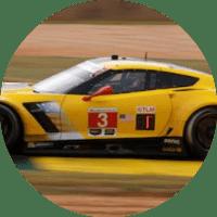Chevy Corvette racing car