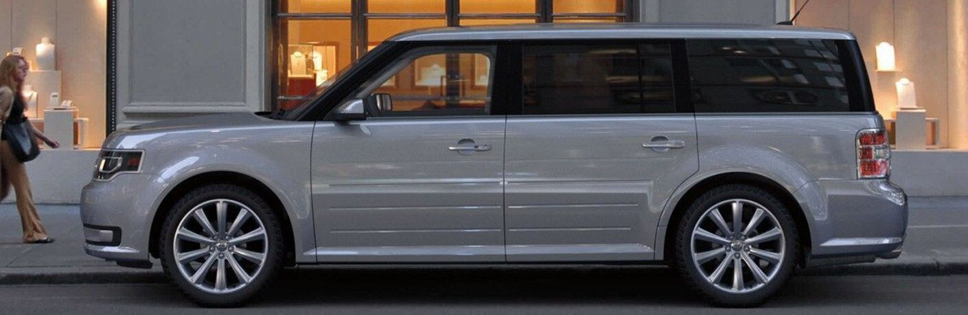 2019 ford flex full view parked