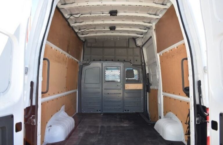 2013 Nissan NV Cargo 2500 with back doors open