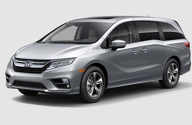 2018 Honda Odyssey in grey