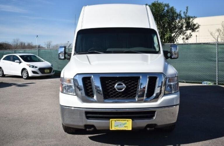 2013 Nissan NV Cargo 2500 front end