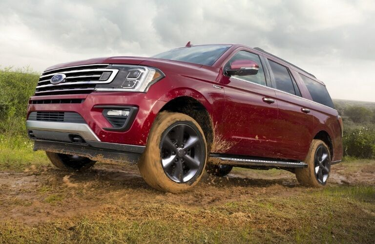 2020 Ford Expedition playing in the mud