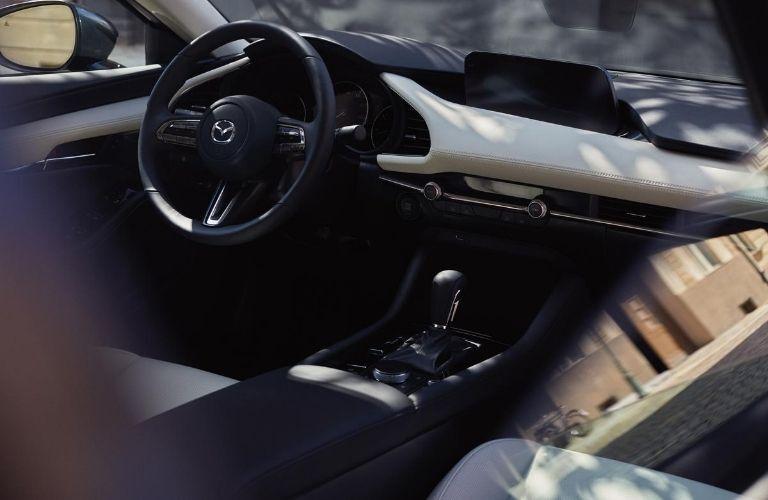 2021 Mazda3 Front Seat Interior