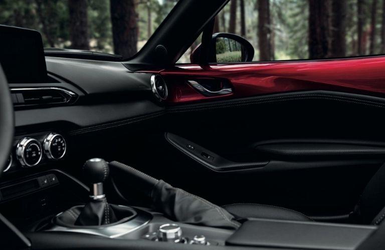 2021 Mazda MX-5 Miata Interior Door Trim and Center Console