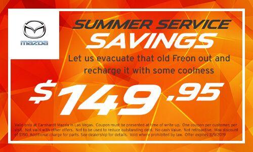 Cooling or Heating repair savings at Earnhardt Mazda in Las Vegas